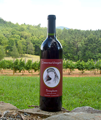 Zimmerman Vineyard's Persephone